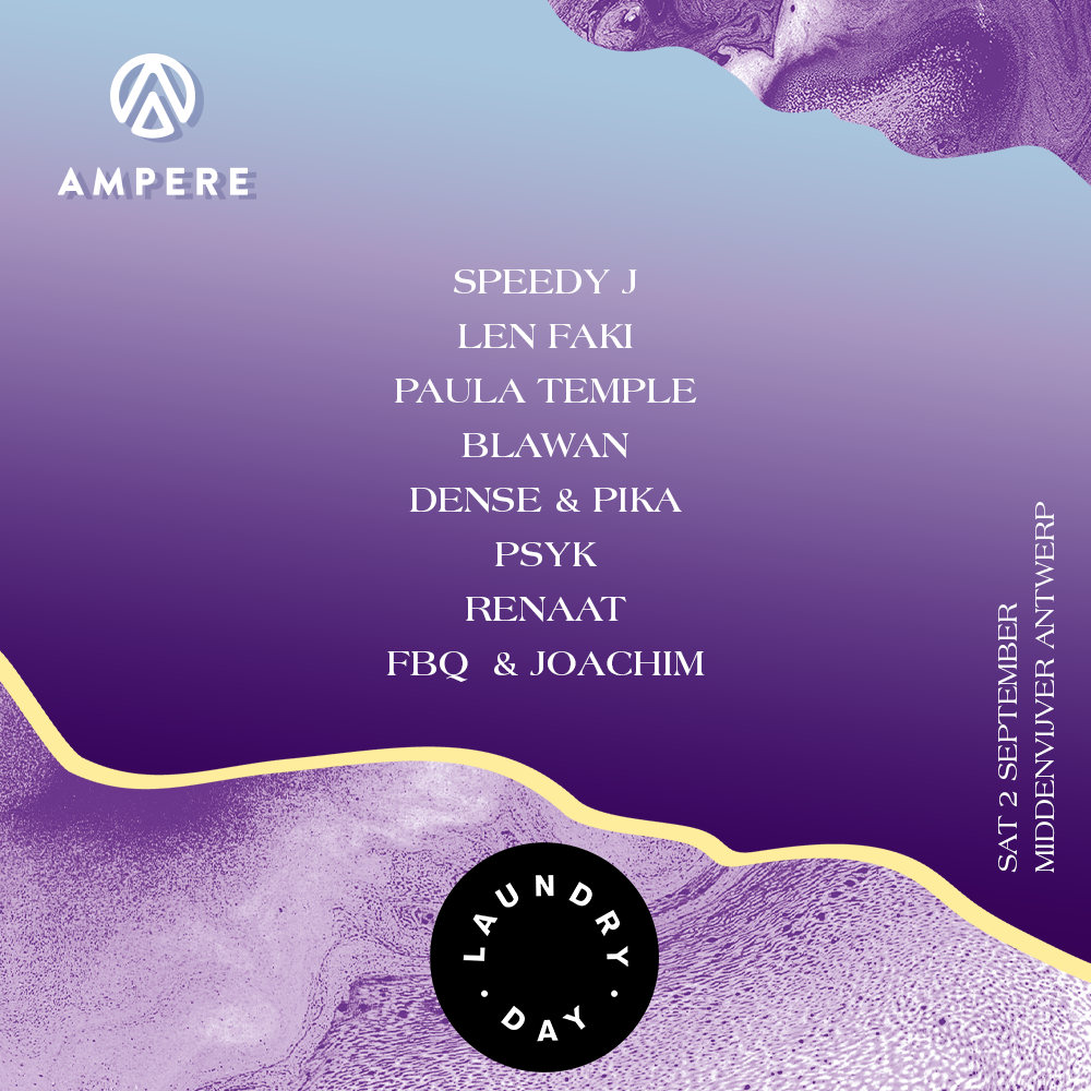 Laundry Day x Ampere Stage Line Up Announcement